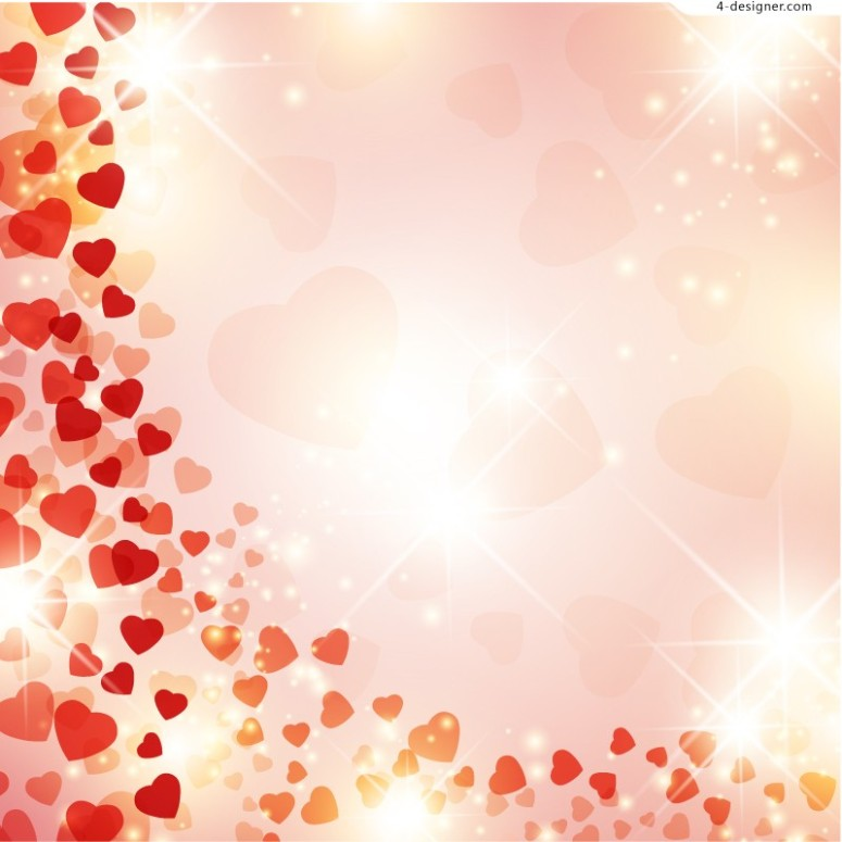 halo-love-background-vector-material-58015